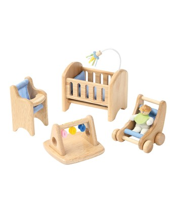 Baby's Room Wooden Play Set