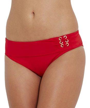 Jag Swim Red Bikini Bottoms