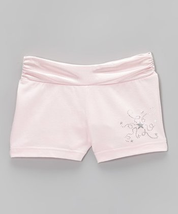Dreamy Pink Star Shorts - Toddler & Girls