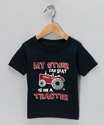 Navy 'My Other Car Seat' Tee - Infant, Toddler & Boys