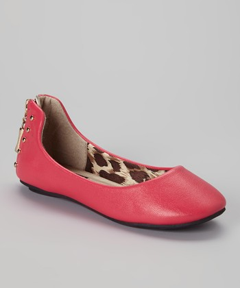 Anna Shoes Pink Show Flat