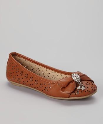 Anna Shoes Camel Vera Flat