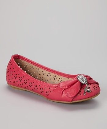 Anna Shoes Pink Vera Flat