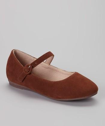 Anna Shoes Camel Paris Mary Jane