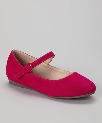 Anna Shoes Fuchsia Paris Mary Jane