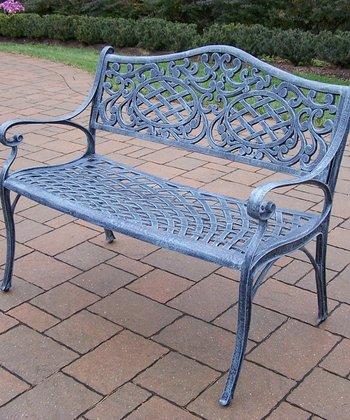Verdi Gray Mississippi Settee Bench