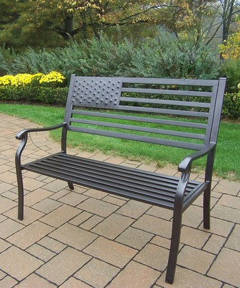 Brown American Pride Bench