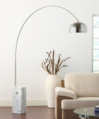 White Cube Base Sunflower Lamp
