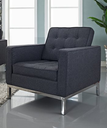Dark Gray Loft Armchair