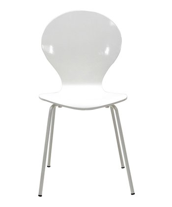 White Insect Dining Side Chair