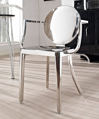 Silver Casper Dining Chair
