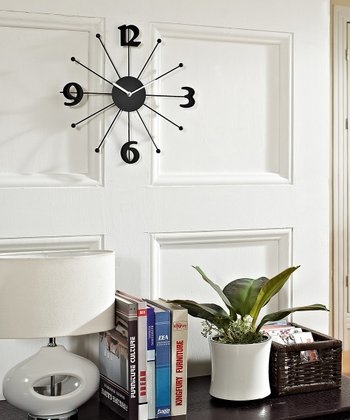 Shopping Wall Clock