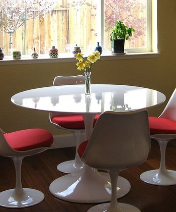 White Lippa Dining Table