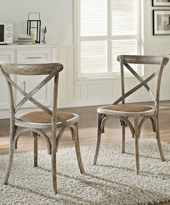 Gray Gear Dining Chair