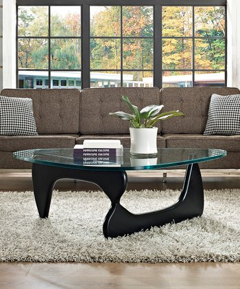 Black Triangle Coffee Table