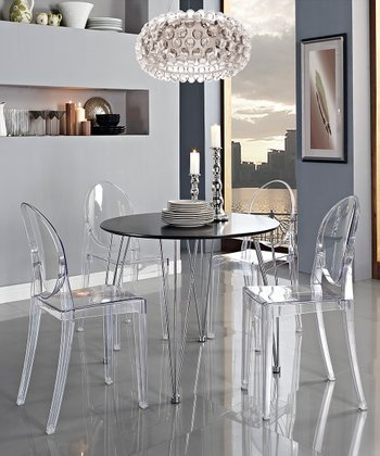 Clear Casper Dining Chair
