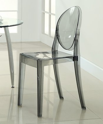 Smoked Clear Casper Dining Chair
