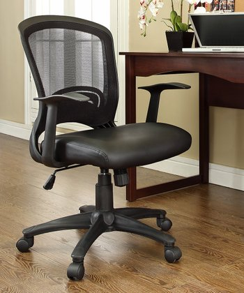 Black Pulse Office Chair