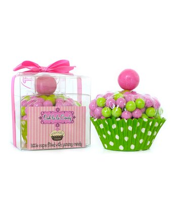 Preppy Fun Cupcake Candy - Set of Two