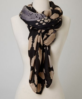 Black Pebbles Scarf