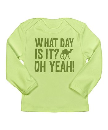 Kiwi 'What Day Is It? Oh Yeah!' Lap Neck Tee - Infant