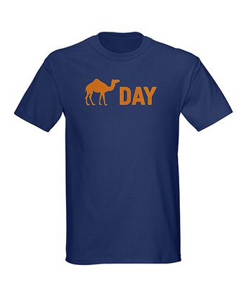 Navy Hump Day Camel Crewneck Tee - Men