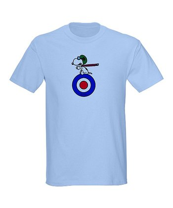 Light Blue Flying Ace Tee - Men