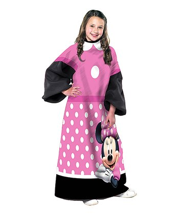 Disney Pink Minnie Mouse Sleeved Blanket - Kids