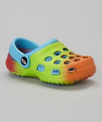 Frisky Shoes Lime Clog
