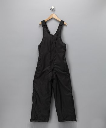 Black Sledmate Bib Pants - Boys