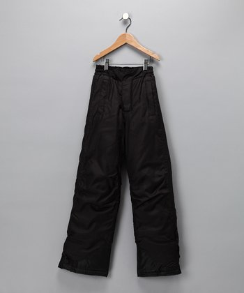 Black Sledmate Pants - Boys