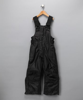 Black Competition Series Bib Pants - Boys