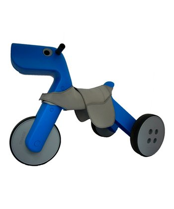 Blue Yetitoy & Saddle Ride-On