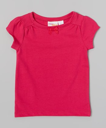 Fuchsia Tee - Infant, Toddler & Girls
