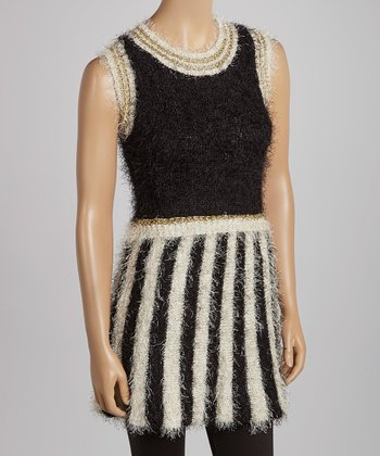 Black & White Stripe Dress