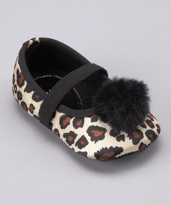 Leopard Baby Minx Mary Jane