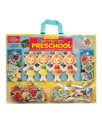Teeny Tiny Quadruplets Wooden Doll Set