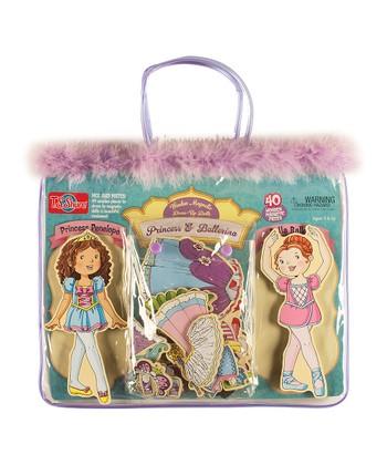 Princess & Fairy Wooden Doll Set