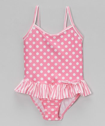 Pink Candy Punch Maillot One-Piece - Infant, Toddler & Girls