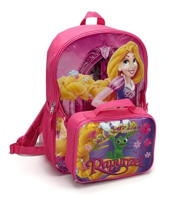 Purple 'Rapunzel' Backpack & Lunch Bag