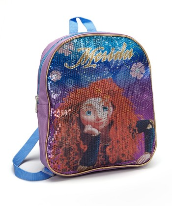 Purple 'Merida' Brave Backpack