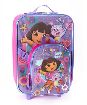 Dora the Explorer 'Exploring Together' Trolley Bag & Backpack Set