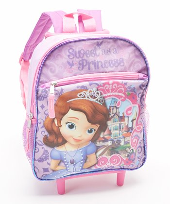 Sofia the First 'Sweet as a Princess' Rolling Backpack