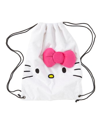Hello Kitty Drawstring Backpack