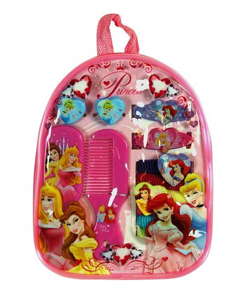 Disney Princess Hair Accessory Backpack Set