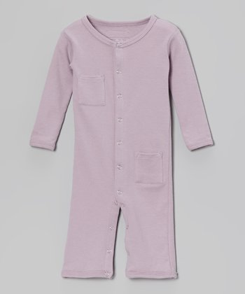 Lavender Pocket Playsuit - Infant