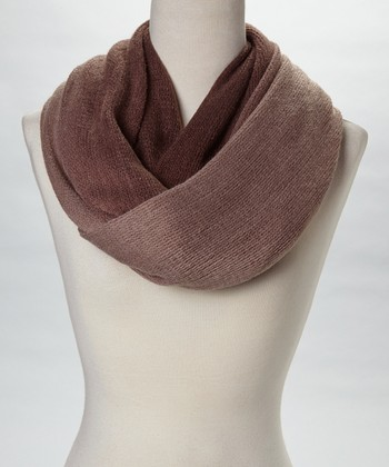 Brown Manhattan Infinity Scarf