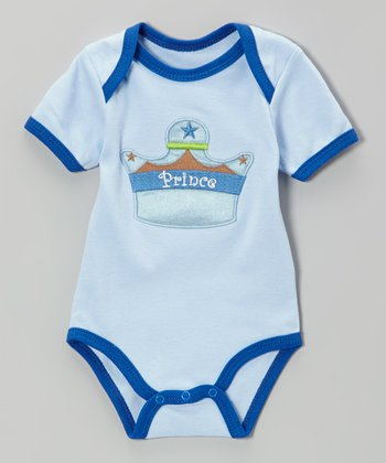 Blue 'Prince' Bodysuit - Infant