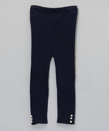 Navy Blue Tights - Infant & Toddler