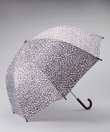 Gray Leopard Umbrella